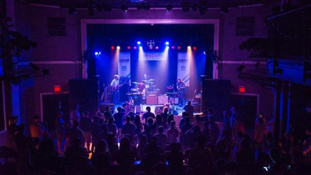 Wild Fur plays the Lincoln Theatre on opening night of Hopscotch 2014 - Greg Hutchinson/WRAL contributor