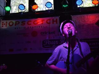 Ghostt Blonde played a Hopscotch day party at The Pour House on Sept. 5, 2014.