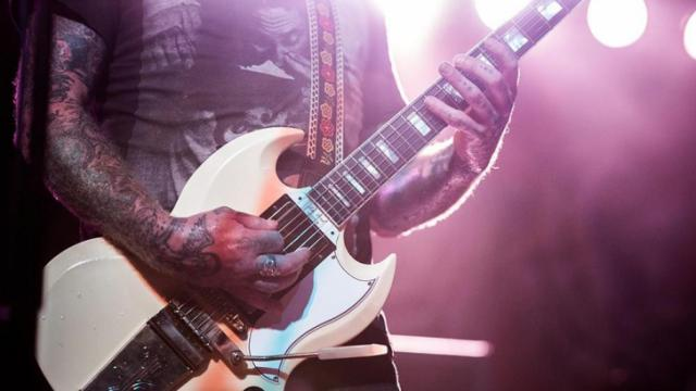 Mastadon headlines City Plaza in downtown Raleigh on the last night of Hopscotch 2014 - Greg Hutchinson/WRAL Contributor