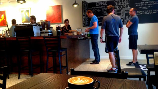 Brew Coffee Bar. Image from John Huisman.