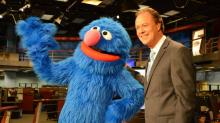 IMAGES: Elmo, Grover stop by WRAL