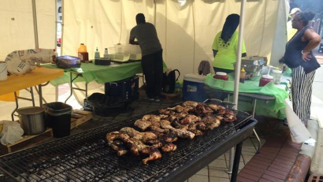 Durham hosted the inaugural North Carolina Jerk Festival on Saturday, Sept. 27, 2014.