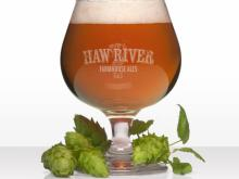 Cotton Pickin' Farmhouse IPA at Haw River Farmhouse Ales