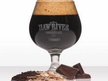 Belgian Chocolate Rye Stout at Haw River Farmhouse Ales