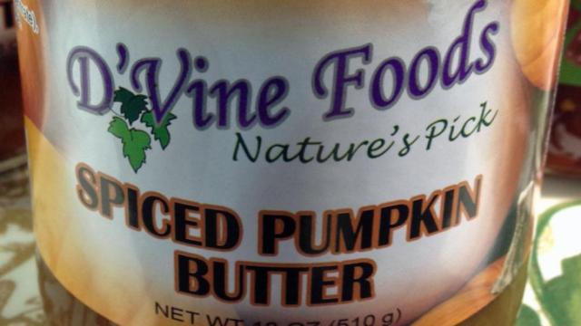 D'Vine Foods' Spiced Pumpkin Butter