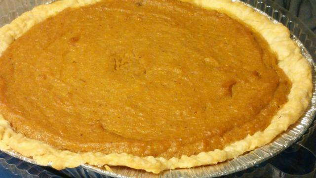 Sweet Potato Pie from Royal Cheesecake