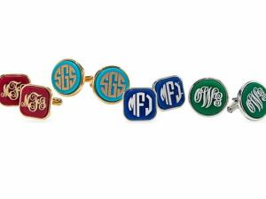 Moon and Lola's personalized cuff links are one of Oprah Winfrey's Favorite things. (Image from Moon and Lola)