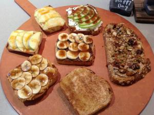 Sola Coffee's Toast Bar