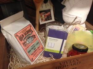 Southern Season offers some very tasty options for holiday gifts, including this gift basket from the Vivian Howard Collection.