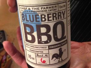 Southern Season offers some very tasty options for holiday gifts, including this Blueberry barbecue sauce.