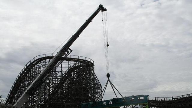 Carowinds Fury is expected to be the fastest and tallest rollercoaster in the world. (Photos courtesy Carowinds)