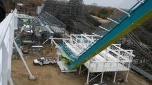 IMAGES: Carowinds tops off world-record roller coaster