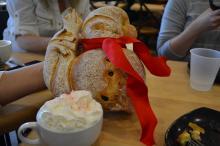 La Farm's Artisan Snowman bread