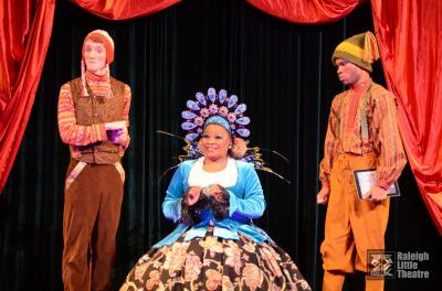 Images from Raleigh Theatre's production of Cinderella. By David Watts