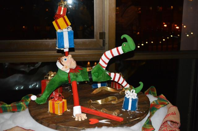 A look at the entries and winners of the National Gingerbread House Competition, which are on display at the Grove Park Inn in Asheville through Jan. 1, 2015.<br/>Photographer: Kathy Hanrahan