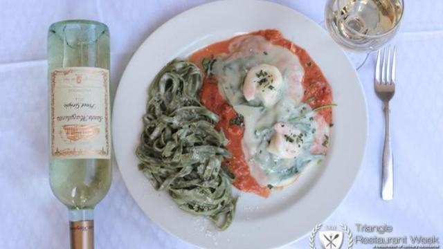 Cafe Tiramisu (Image from Triangle Restaurant Week)