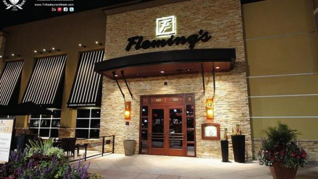 Fleming's (Image from Triangle Restaurant Week)