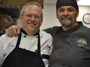 Chef Patrick Cowden, Tobacco Road Sports Café  and Chef Curt Shelvey, Curt's Cucina