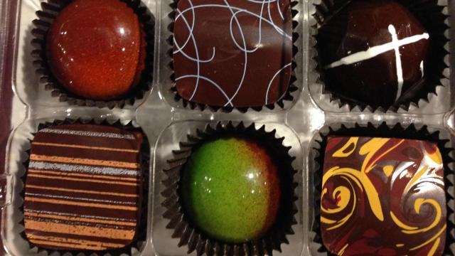 Southern Season Valentine's Day gift ideas: Christopher Elbow chocolates