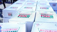 IMAGES: Thousands brave cold for 11th annual Krispy Kreme Challenge