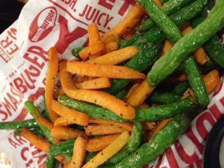 A look at Smashburger's Veggie Frites.