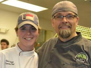Chef Chelsi Hogue, Ed's Southern Food & Spirits versus Chef Curt Shelvey, Curt's Cucina