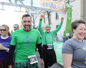 The 2015 Kilt Run took place in Raleigh on Saturday, March 7 as a benefit for the National MS Society, the nOg Run Club and other area charities. Phoot by Christine Adamczyk.