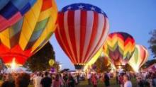 IMAGES: Disabled veterans get chance to fly at hot air balloon fest