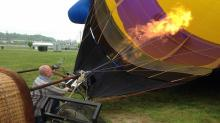 Hot air balloon images (Courtesy of Brian Hoyle)