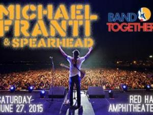 Michael Franti and Spearhead will play Band Together NC on June 27 at Red Hat Amphitheater.
