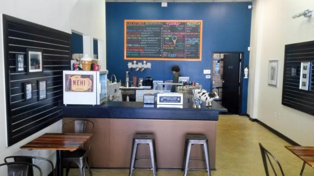 Treat ice cream shop in City Market in downtown Raleigh (Image from Treat)