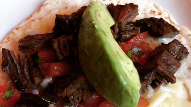Steak taco at Gonza Tacos y Tequila
