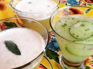 Margaritas at Gonza Tacos y Tequila