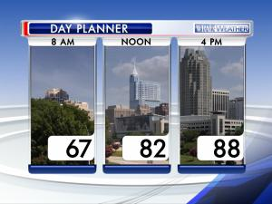 Day planner: May 17, 2015