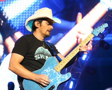 Brad Paisley in concert at Walnut Creek Amphitheater in Raleigh N.C. on Saturday May 16, 2015. (Chris Baird / WRAL Contributor).
