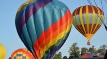 IMAGES: Wind, luck involved in balloon competitions