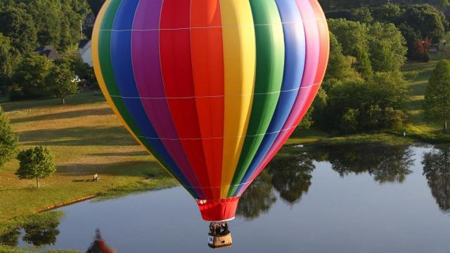 WRAL Freedon Balloon Fest 2015 was held at Bennett Bunn Plantation on Sunday May 24, in Zebulon N.C. (Chris Baird / WRAL Contributor).