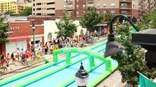 IMAGES: Slide the City Raleigh returns with shorter lines, splashy fun