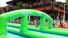 IMAGES: Slide the City plans Raleigh return