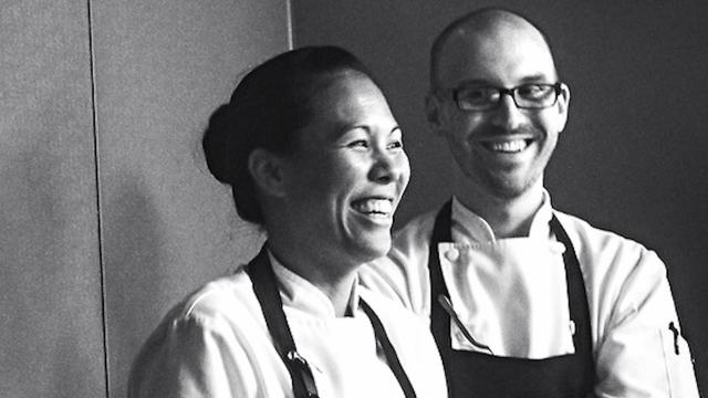 Kim Floresca and Daniel Ryan of ONE Restaurant (Image courtesy of Farm to Fork)