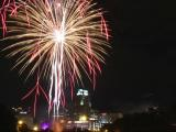 Fireworks soar over Downtown Raleigh