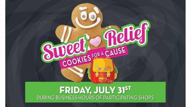 'Cookies for a Cause' fundraiser is July 31, 2015. (Facebook)