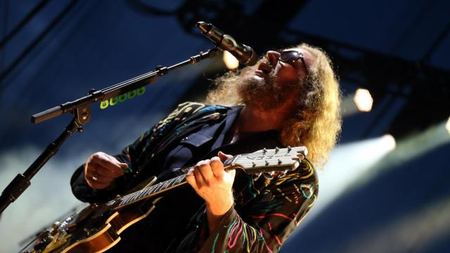 My Morning Jacket rocked Red Hat Amphitheater in downtown Raleigh, NC on Tuesday evening, July 28, 2015 (Photo by Jack Morton).