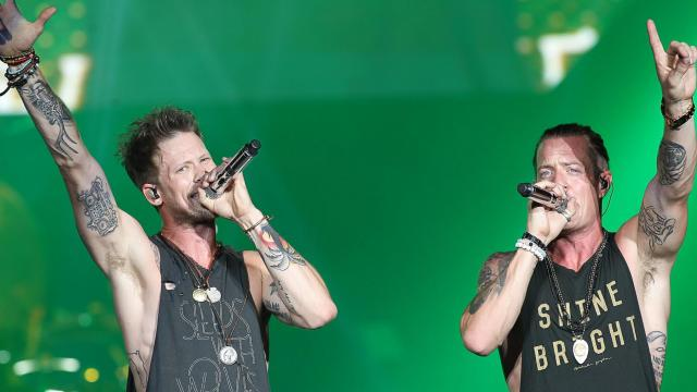 Florida Georgia Line hits the stage at Walnut Creek Amphitheater in Raleigh, N.C. on Thursday August 13, 2015. (Chris Baird / WRAL Contributor).