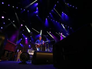 Phish rocked Walnut Creek Amphitheatre on Friday, August 14, 2015 in Raleigh, NC.  (Photo by Jack Morton)