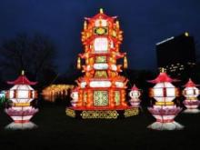 North Carolina Chinese Lantern Festival  Cary (Koka booth)