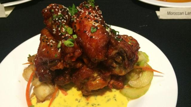 Korean BBQ Wings at CineBistro in Waverly Place