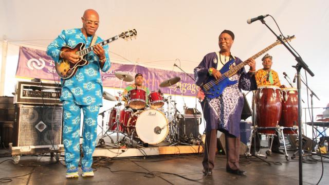 Baba Ken & West African Highlife Band (Image from National Folk Fest)