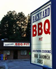 Backyard BBQ Pit in Durham