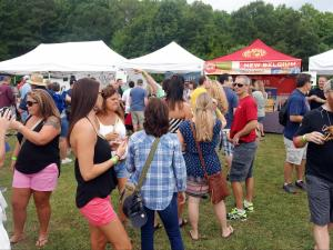 Beer lovers got to taste dozens of options Saturday at the second annual Beericana.